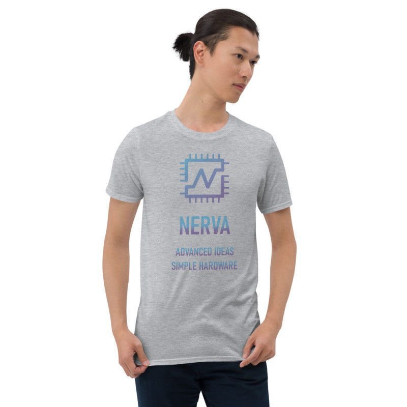 Nerva (XNV) unisex t-shirt - color design - sport grey