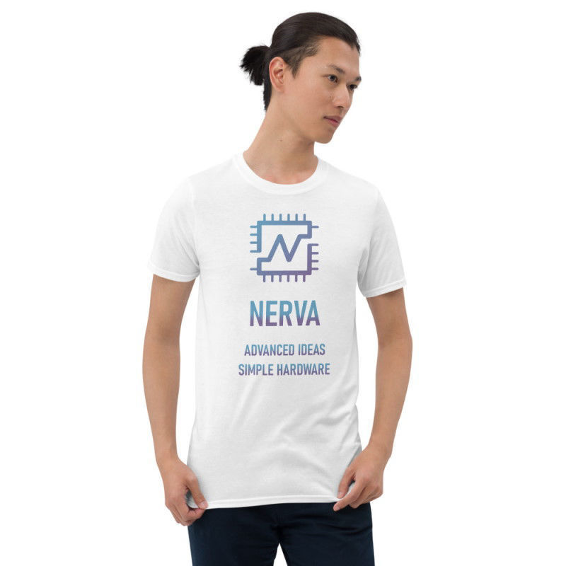 Nerva (XNV) unisex t-shirt - color design - white