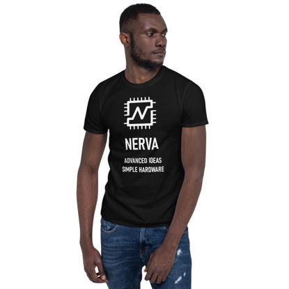 Nerva (XNV) - unisex t-shirt - white design - black