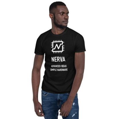 Nerva (XNV) - unisex t-shirt - white design - black