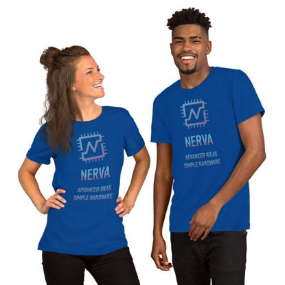 Nerva (XNV) - premium unisex t-shirt - color design - true royal