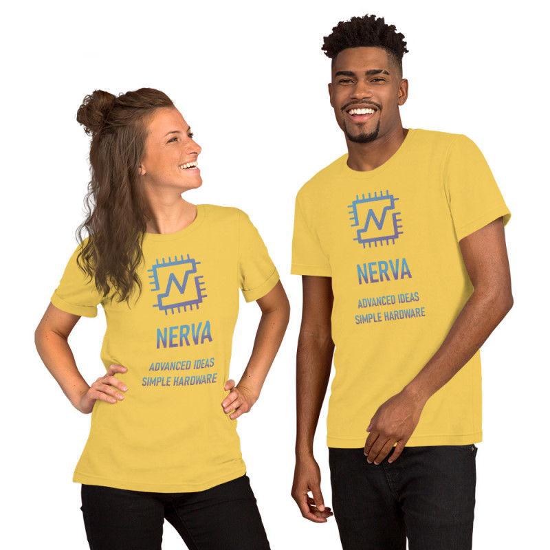 Nerva (XNV) - premium unisex t-shirt - color design - yellow