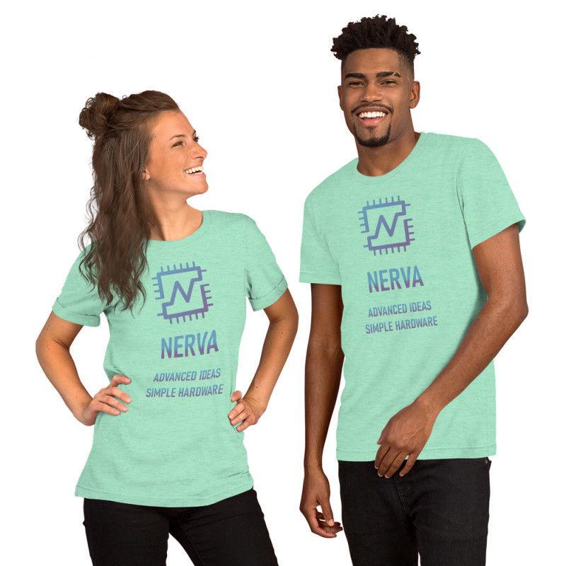 Nerva (XNV) - premium unisex t-shirt - color design - heather mint