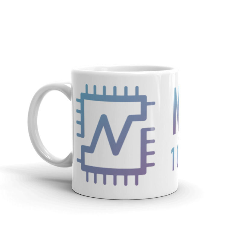 Nerva (XNV) - Coffee Mug - 1 CPU = 1 VOTE - 11 oz - 1
