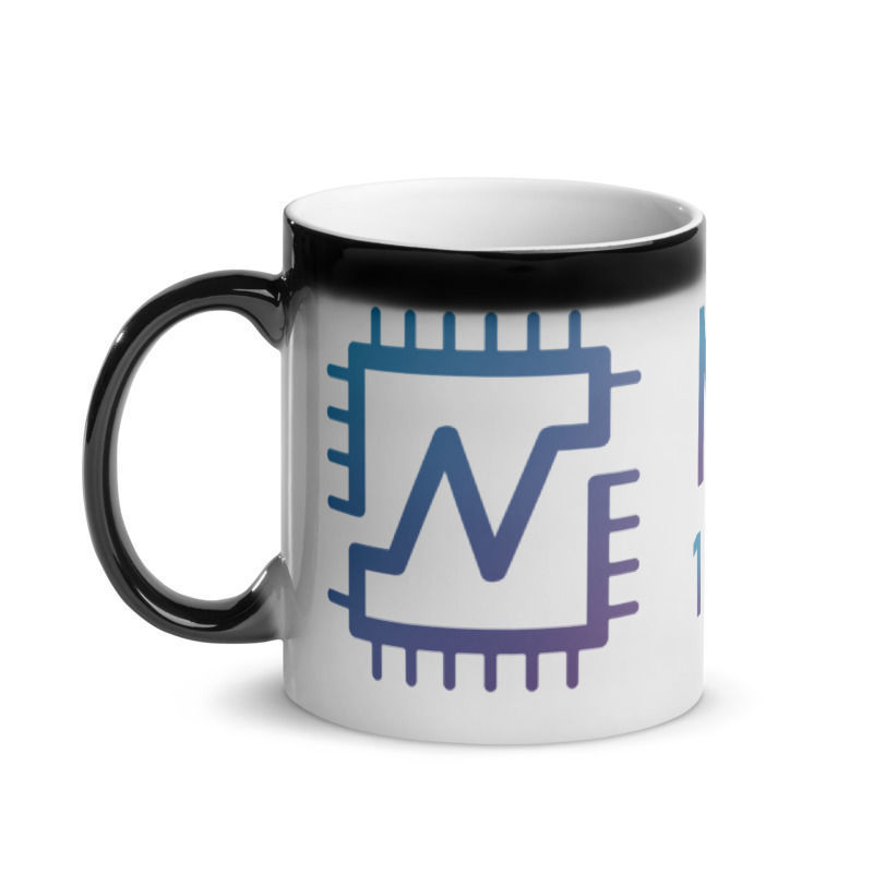 Nerva (XNV) - Glossy Magic Coffee Mug - 1 CPU = 1 VOTE - Hot 1