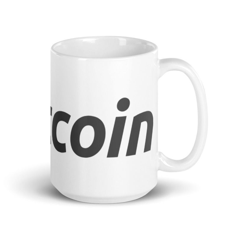 Bitcoin (BTC) - Coffee Mug - 15oz - 3