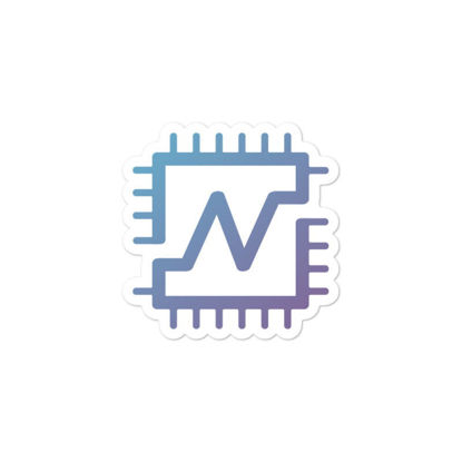 Nerva (XNV)  bubble-free stickers - logo only - 3in