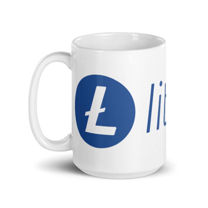 Litecoin (LTC) - Coffee Mug - 15oz - 1