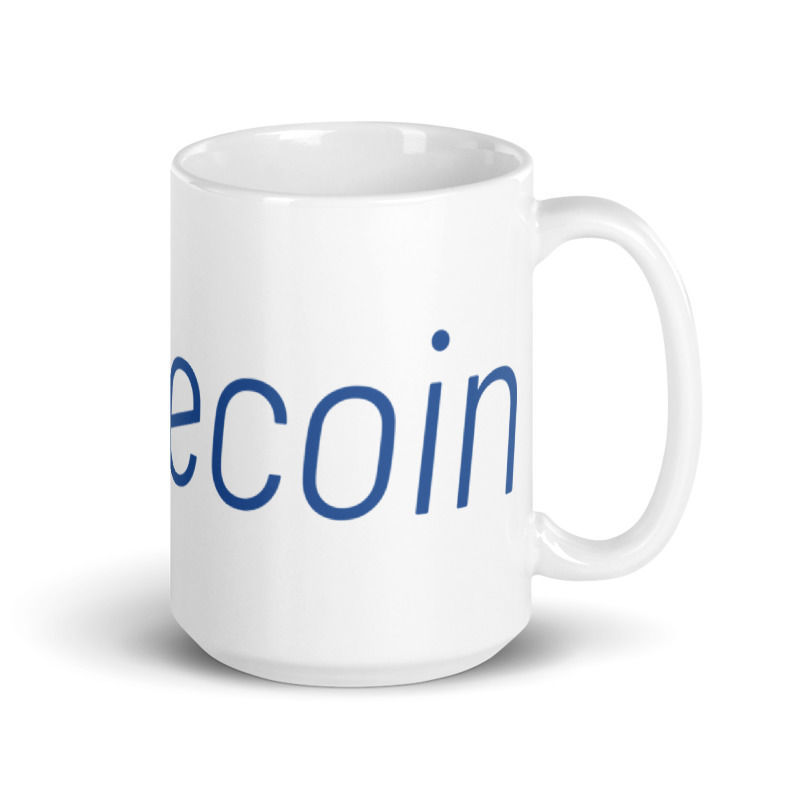 Litecoin (LTC) - Coffee Mug - 15oz - 3