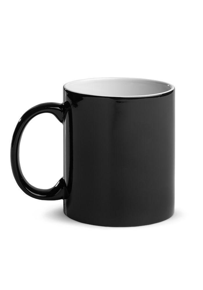 Bitcoin (BTC) - Glossy Magic Coffee Mug - View When Cold