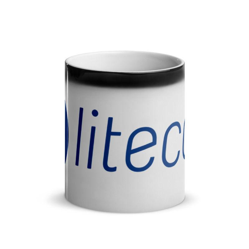 Litecoin (LTC) - Glossy Magic Coffee Mug - Hot 2