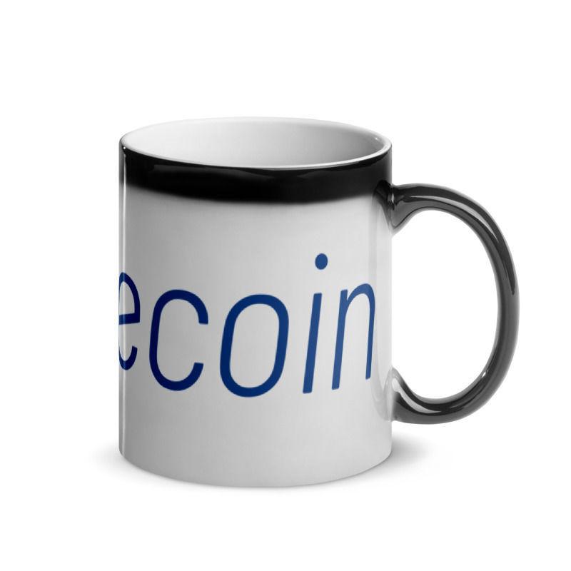 Litecoin (LTC) - Glossy Magic Coffee Mug - Hot 3