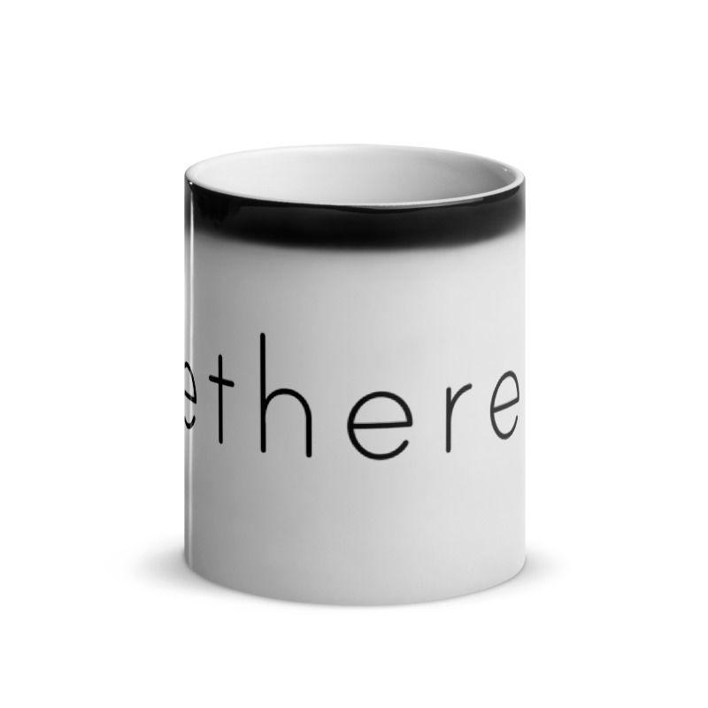 Ethereum (ETH) - Glossy Magic Coffee Mug - Hot View 2
