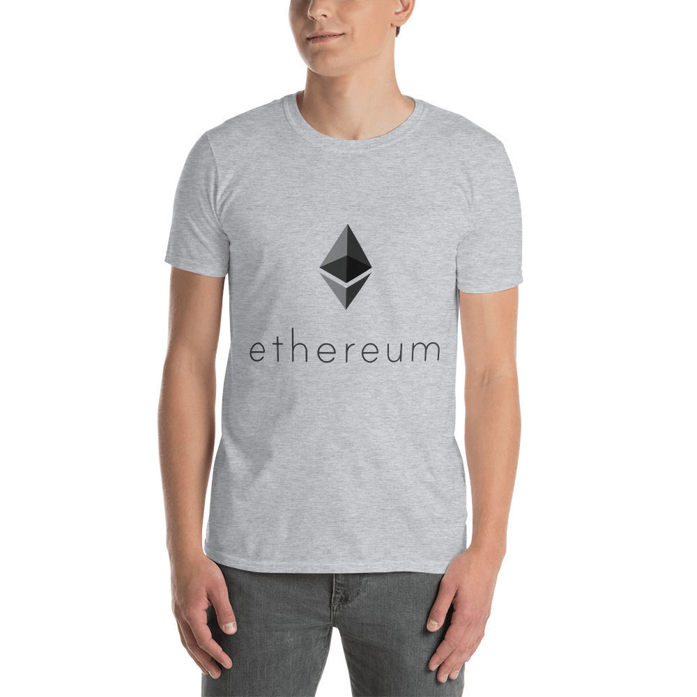 Ethereum (ETH) - Unisex T-Shirt - Color Design - Sporty Grey