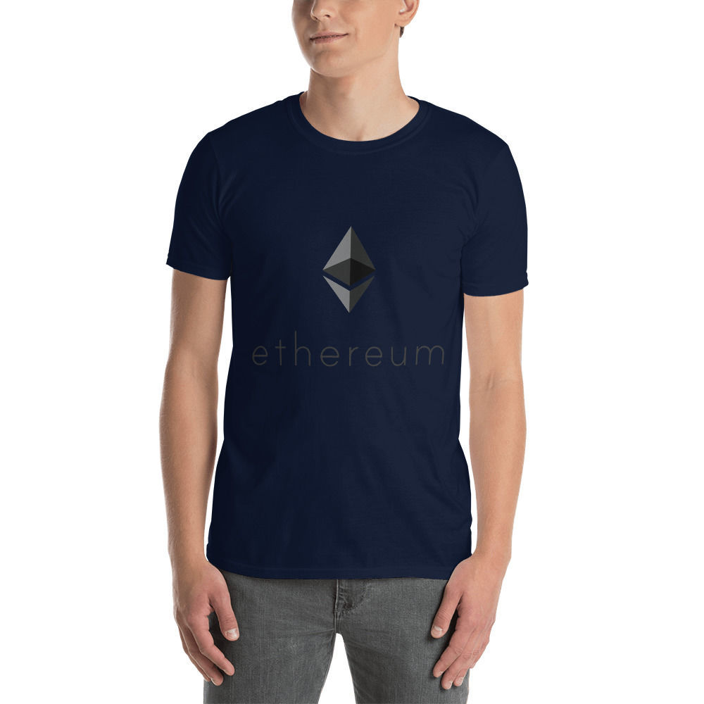 Ethereum (ETH) - Unisex T-Shirt - Color Design - Navy
