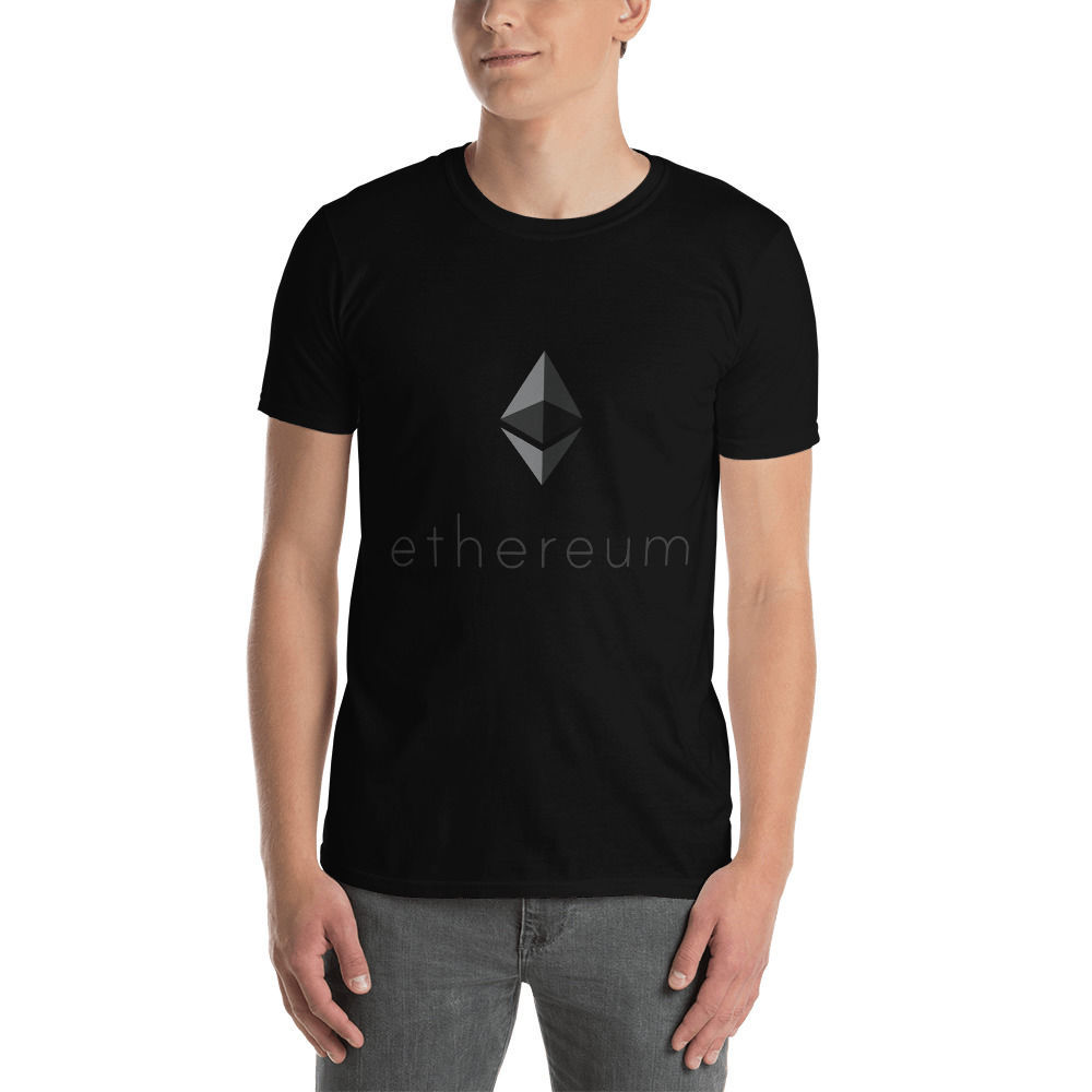 Ethereum (ETH) - Unisex T-Shirt - Color Design - Black